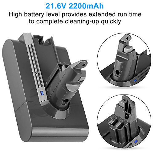 Powilling 21.6V 2.2A Dyson Battery 595 DC58 Replacement Battery