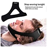 Anti-Snoring Chin Strap  and instant Relief