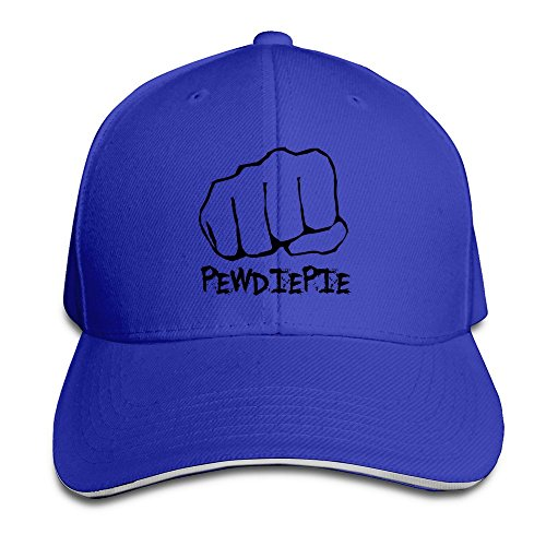 sunny-fish6hh-unisex-adjustable-pewdiepie-baseball-caps-hat-one-size-royalblue