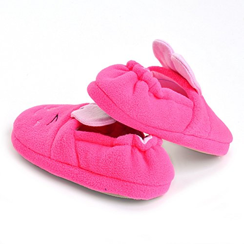 Para niñas de zapato de conejo rosa rosa Talla:Toddler US 8-9