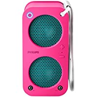 Philips SB5200P/37 Bluetooth Wireless Portable Speaker (Pink) (Discontinued by Manufacturer)