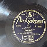 78rpm RON GOODWIN chaplin - limelight / song from moulin rouge