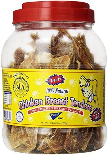 Pet Center DPC88032 Chicken Breast Tenders Dog Treat, 32-Ounce (Breast Chicken Tenders Center Pet)