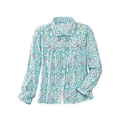 La Cera Flannel Bed Jacket hot sale