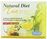 Neli Natural Diet Tea Lemon and Lime Taste Tea Bags, 80-count by Neli