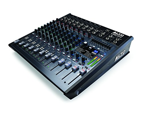 Alto Professional Live 1202 | 12-Channel / 2-Bus Mixer with 7 XLR inputs by Alto Professional