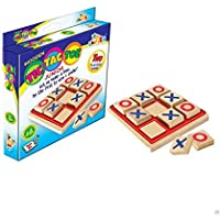 PRiQ Awals Wooden Tic Tac Toe Game