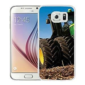 john deere White New Design Phone Case For Samsung Galaxy S6 G9200 Case