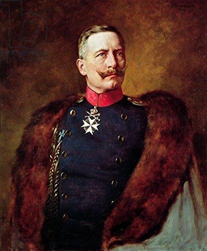 Alu-Dibond-Bild Alu-Dibond-Bild Alu-Dibond-Bild 90 x 110 cm   Portrait of Kaiser Wilhelm II (1859-1941) , Bild auf Alu-Dibond B01EBELVDA Wandtattoos & Wandbilder fd6567