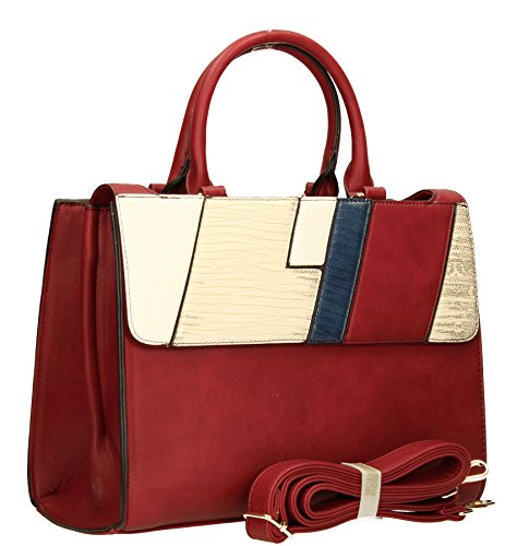 SwankySwans - Sacchetto donna Red