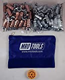 50 1/8 & 50 3/32 Standard Wing-Nut Cleco Fastener w HBHT Tool & Bag (KWN4S100-3)