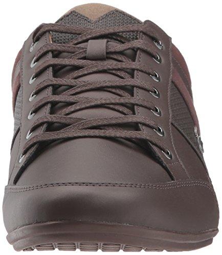 Lacoste Men's Chaymon 118 1 Sneaker, Dkbrw/BRW, 7 M US