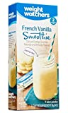 Weight Watchers French Vanilla Smoothie, (7 x 0.77oz) slim packs net wt. 5.4oz