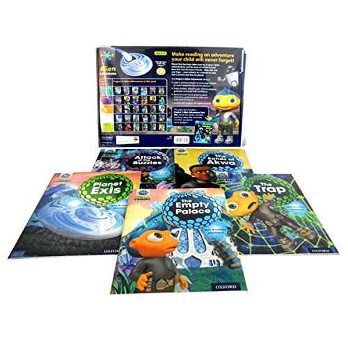 Download Oxford Reading Tree Project X, Alien Adventures 30 books set collection in pack pdf