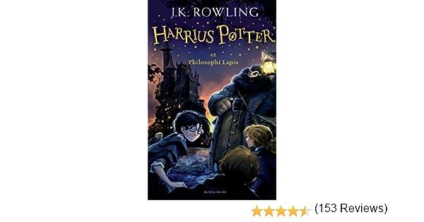 LAT-HARRIUS POTTER ET PHILOSOP (Harry Potter): Amazon.es: Rowling ...