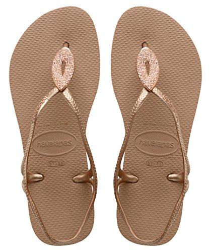 Havaianas Luna Speciella Womens Sandals Metallic