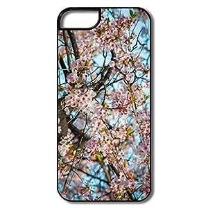 Cartoon Cherry Blossom Seoul Case For IPhone 5/5s