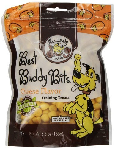 Exclusively Pet Best Buddy Bits-Cheese Flavor, 5-1/2-Ounce Package by Exclusively Dog