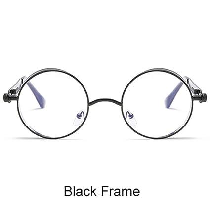 9d888797c3 Gothic Steampunk Sunglasses Women Men Vintage Retro Round Metal Sun Glasses  UV400 Steam Punk Goggles Mirrored