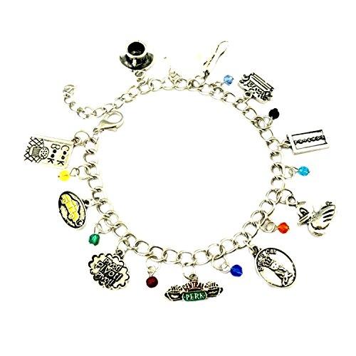 Superheroes Brand Friends TV Show Charm Bracelet Jewelry Series w/Gift -
