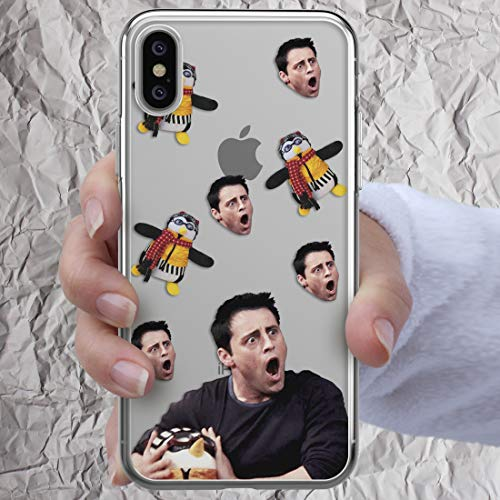 Friends TV Show Case Merchandise Phone for Phone iPhone 7 8 6 6s plus X Xs Max Xr 5 5s se 5se 4 4s Gifts Joey Tribbiani Quotes Cute Penguin Central Perk coffee mug For Series Fan Silicone Clear Cover