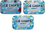 ICE CHIPS Candy 3 Pack Assortment (Strawberry Daiquiri, Margarita, Pina Colada)