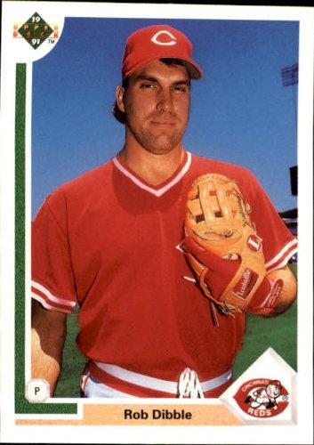 1991 Upper Deck Baseball Card #635 Rob Dibble