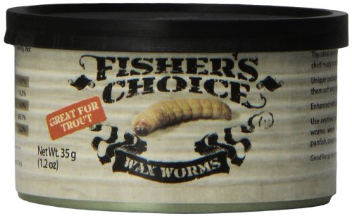 Fisher'S Choice: Wax Worms, 35 G / 1.2 Oz
