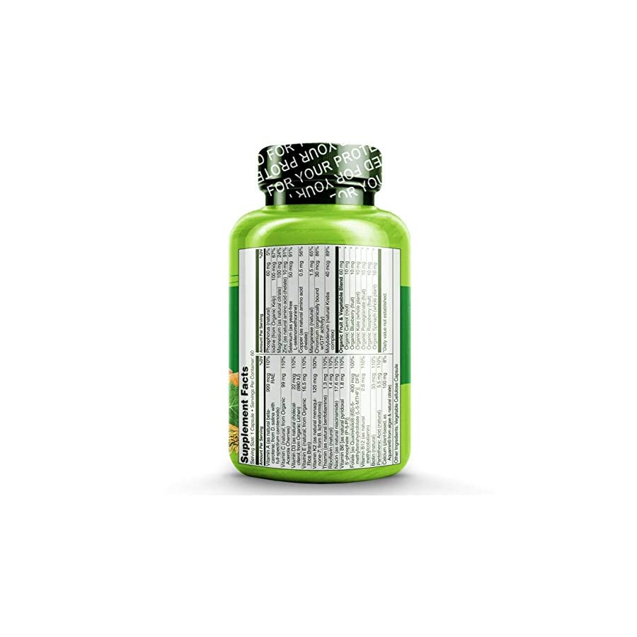 NATURELO One Daily Multivitamin for Men