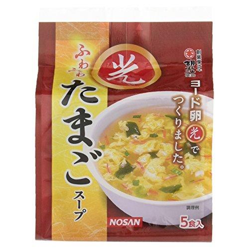 Iodine egg-light fluffy egg soup 7.8g ~ 5 Kuii