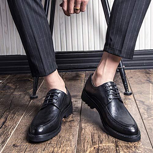 Oxford Verniciata Formale Sposa Bretelle Con Da Uomo Lacci Uniformi Black Uomo In Pelle Business Scarpe Con Da Derby Da Scarpe Scarpe Ufficio Scarpe F1wv8SxqIf