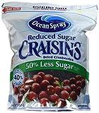 Ocean Spray Reduced Sugar Craisins Dried Cranberries 43 Ounce