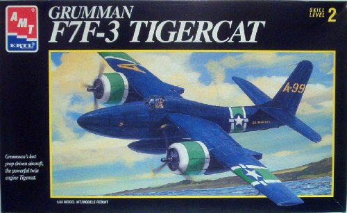 Grumman F7f-3 Tigercat Scale 1:48 By AMT for sale  Delivered anywhere in USA