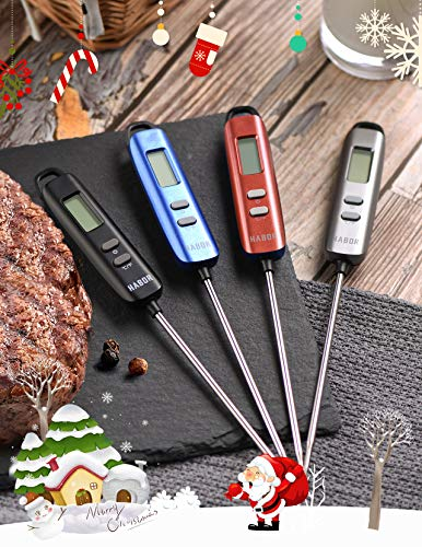 Instant digital thermometer
