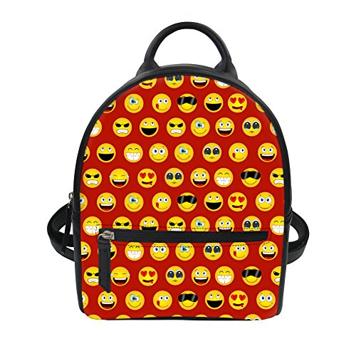 Advocator Packable Para Emoji2 Bolso Emoji5 Mochila naranja Backpack Mujer rcwxB7rCFq