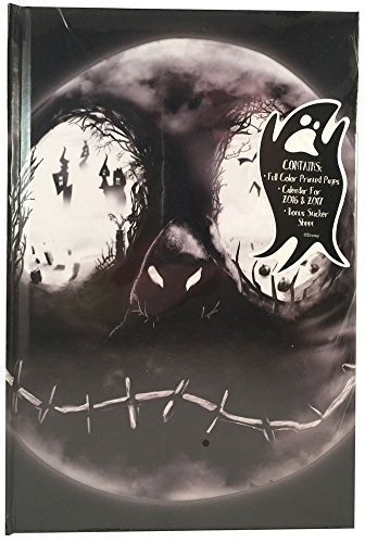 [Tim Burton's The Nightmare Before Christmas Journal with Calendars and Stickers, Jack Skellington] (Boogie Man Nightmare Before Christmas Costumes)