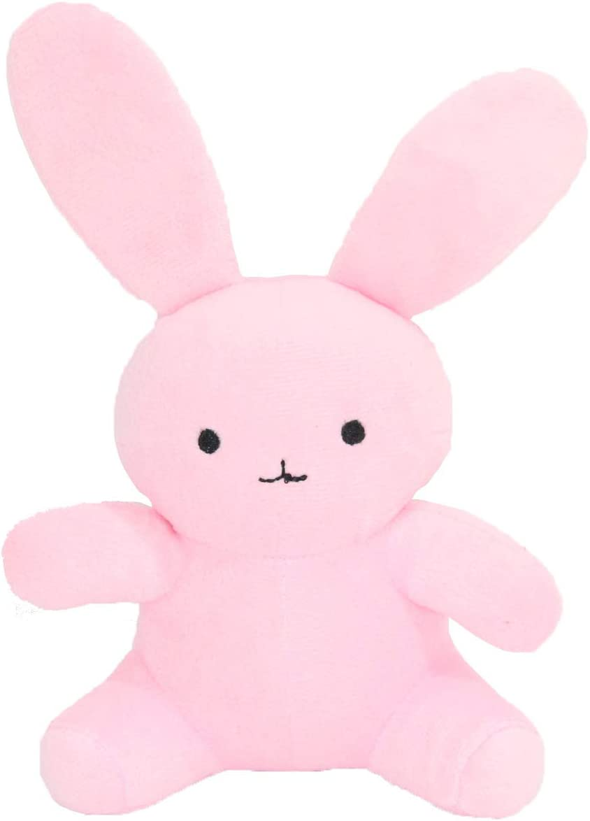 "Nanrui Trade. Rabbit Stuffed Animal 11.8"" Rabbit plushie Plush Stuffed Animal Plush (5.9"", Pink Rabbit)"