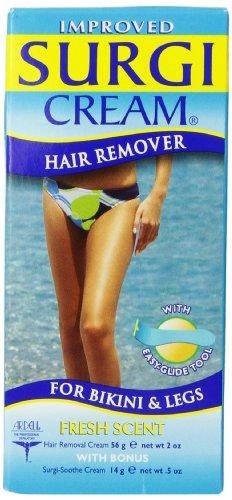Surgi-cream Hair Remover For Bikini & Legs, 2-Ounce Bottles