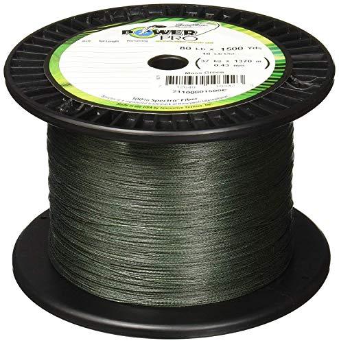 5lb 150yd Moss Green Power Pro Spectra Braided Line