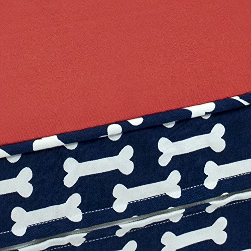 eLuxurySupply-Dog-Bed-Give-a-Dog-a-Bone-Orthopedic-Gel-Memory-Foam-Made-in-the-USA-Durable-100-Cotton-Canvas-Cover-Waterproof-Encasement-Machine-Washable-Small-Medium-Large-Dogs