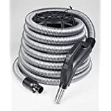Central Vacuum Air Hose (35 feet) - Designed To Fit All Central Vacuums- BEAM, Kenmore, Canavac, Vacuflo, DuoVac, Husky, and More