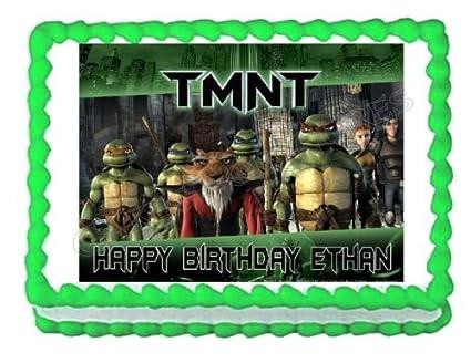 Amazon.com: TMNT Teenage Mutant Ninja Turtles frosting cake ...
