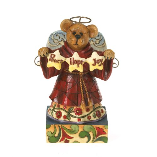 - Enesco Jim Shore for Boyd's Bears Rosemary Angelbliss Holiday, Wishes Resin Figurine