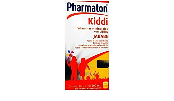 Amazon.com: PHARMATON KIDDI SYRUP WITH ESSENTIAL MULTIVITAMINS AND MINERALS by Pharmaton: Health & Personal Care