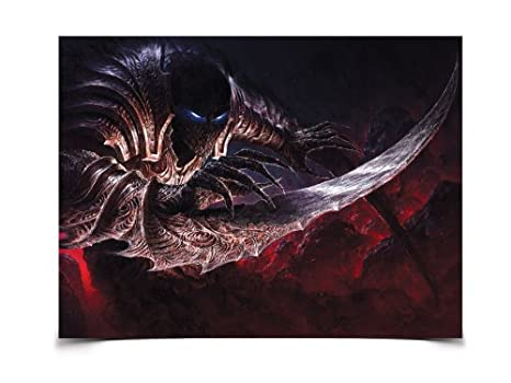 Amazon.com: Cartel – League of Legends – Nocturne Wall Art ...