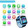 Kids Smart Watch Phone Girls Boys GPS Locator Pedometer Fitness Tracker Touch Camera Games Light Touch Anti Lost Alarm Clock Smart Watch Bracelet by GreaSmart