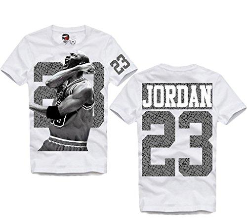 E1SYNDICATE JORDAN 23 DUNK DREAM TEAM BASKETBALL T-SHIRT HBA CHICAGO XS-XXL by E1SYNDICATE