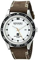 Sperry Top-Sider Men's 10008966 Halyard Analog Display Japanese Quartz Brown Watch by Sperry Top-Sider Watches MFG Code