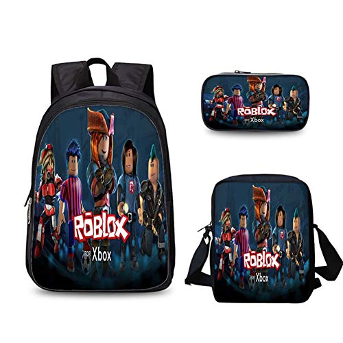 db555849d9c4 Unlimitedfy Roblox Backpack Lunch Box Pencil Case for Boys | Bags ...