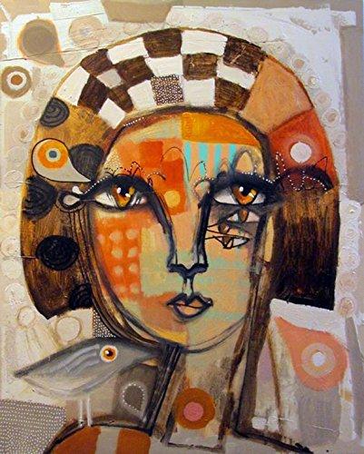 Kings Wood Art Pissarro/_Alien Beuty II 24x30 Fine Art Canvas Print Multicolor